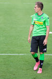 Yrkesmässig fotbollsspelare Patrick Herrmann Royaltyfri Bild