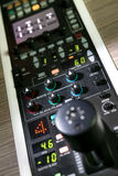 Yrkesmässig kontrollbord Arkivbild
