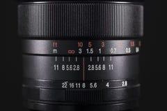 Yrkesmässig lins för digital kamera Fotografering för Bildbyråer