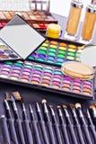 Yrkesmässig makeupsats Arkivbilder