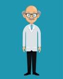 Yrkesmässig sjukvårddesign för doktor royaltyfri illustrationer