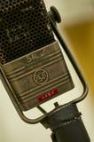 Yrkesmässig tappningmikrofon; Abbey Road Studios London Fotografering för Bildbyråer