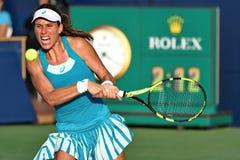 Yrkesmässig tennisspelare Joanna Konta Royaltyfri Foto