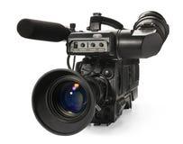 Yrkesmässig videokamera Royaltyfri Fotografi