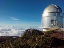 Yrkesmässigt teleskop Arkivfoton