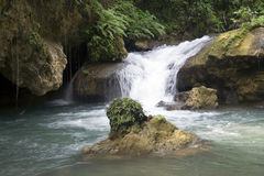 YS de Waterval van de rivier Royalty-vrije Stock Fotografie