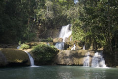 YS River Waterfall Royalty Free Stock Image