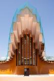 Ysios-bodega, dichtbij Laguardia, La Rioja, Noord-Spanje Stock Foto's
