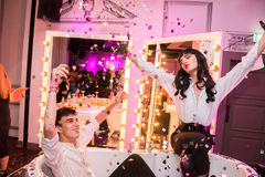 YSL Beauty Host The #YSLBeautyClub Party In Collaboration With Sink The Pink Royalty Free Stock Images