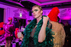 YSL Beauty Host The #YSLBeautyClub Party In Collaboration With Sink The Pink Royalty Free Stock Photos