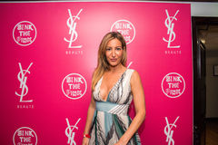 YSL Beauty Host The #YSLBeautyClub Party In Collaboration With Sink The Pink Royalty Free Stock Image