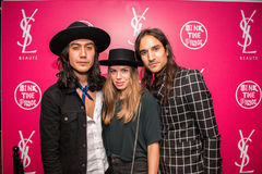 YSL Beauty Host The #YSLBeautyClub Party In Collaboration With Sink The Pink Stock Image