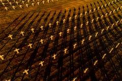 Ysselsteyn German military war cemetery royalty free stock images