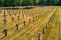 Ysselsteyn German military war cemetery royalty free stock photography