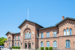 Ystad dworzec Obrazy Stock