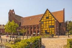 Ystad Monastery In Sweden Stock Photos
