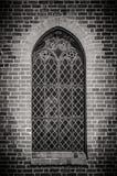 Ystad Monastery Window Royalty Free Stock Photography