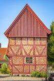 Ystad Starzy Mayors domy obrazy royalty free