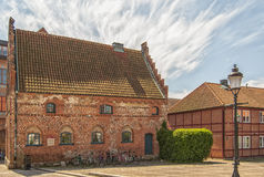 Ystad Townhouse Royalty Free Stock Photo
