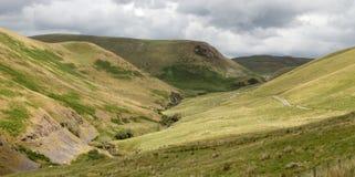 The Ystwyth valley near Cwmystwyth, Wales UK. Royalty Free Stock Photos