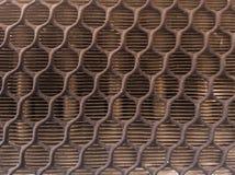 Ytbehandla och strukturera kännetecken av element, luftkonditioneringsapparater och skiljeväggar arkivbilder