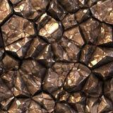 Ytbehandlar den Seamless abstrakt begrepp frambragda stenkristallen Royaltyfri Fotografi