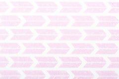 Ytbehandlar vita linjer för den rosa motivdesignen modell sompapper för textiltapetmodell fyller räkningar, halsduken för tryckgå arkivfoto