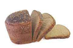 Żyto chleb z kolenderami Obrazy Royalty Free