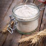 Żyto mąka zdjęcie royalty free