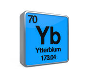 Ytterbium Element Periodic Table Stock Images
