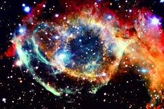 ytterkant avstånd för färgrik nebula royaltyfri foto