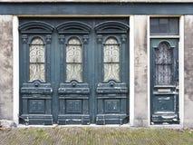 Yttersida av arkitektur för gammal stil Fotografering för Bildbyråer