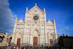 Yttersida av basilikan av Santa Maria Novella Royaltyfria Bilder