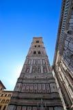 Yttersida av basilikan av Santa Maria Novella Arkivfoto