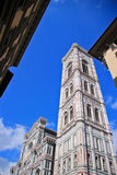 Yttersida av basilikan av Santa Maria Novella Royaltyfri Bild