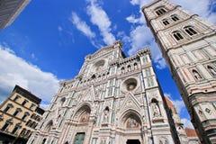 Yttersida av basilikan av Santa Maria Novella Royaltyfria Foton