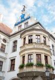 Yttersida av berömda Hofbrauhaus - Munich, Tyskland Royaltyfri Bild