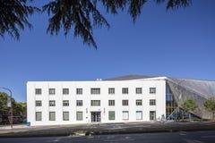 Yttersida av Berkeley Art Museum och det Stillahavs- filmarkivet Royaltyfria Bilder