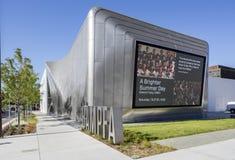 Yttersida av Berkeley Art Museum och det Stillahavs- filmarkivet Royaltyfri Bild