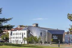 Yttersida av Berkeley Art Museum och det Stillahavs- filmarkivet Arkivbild