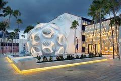 Yttersida av Bulgari shoppar i midtownen Miami Royaltyfri Fotografi