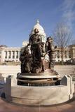 Yttersida av byggnaden för Arkansas statKapitolium i Little Rock Royaltyfri Foto