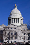 Yttersida av byggnaden för Arkansas statKapitolium i Little Rock Fotografering för Bildbyråer