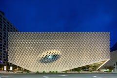 Yttersida av den breda moderna Art Museum Royaltyfria Bilder
