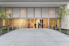 Yttersida av den Los Angeles County konstmuseet Arkivbilder