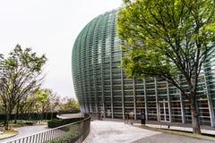 Yttersida av den moderna arkitekturen Fotografering för Bildbyråer