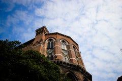 Yttersida av den San Giacomo dell'Orioen Royaltyfria Bilder
