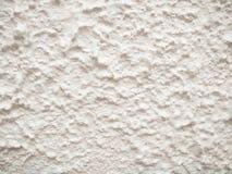 Yttersida av den vita naturliga cementväggen Arkivfoto