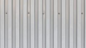 Yttersida av det trapezoidal metallarket med bultar Royaltyfri Fotografi