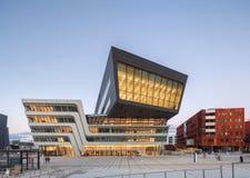 Yttersida av det Wien universitetet av nationalekonomi och affären Royaltyfri Fotografi